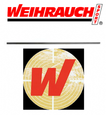 Silco Sports Ltd : Weihrauch AIirgun Barrel Blank -495mm Long - 12mm Dia - unchoked - Airgun Spares